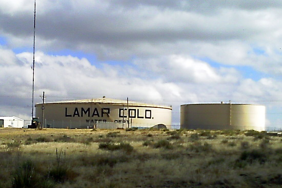 City of Lamar 6 Million Gallon Water Tank