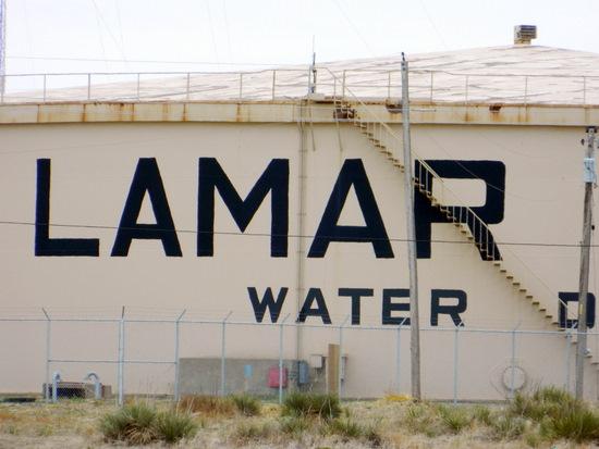 Lamar Water Tank