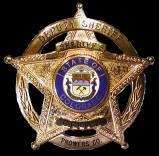 Prowers Sheriff Badge