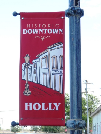 holly historic banner