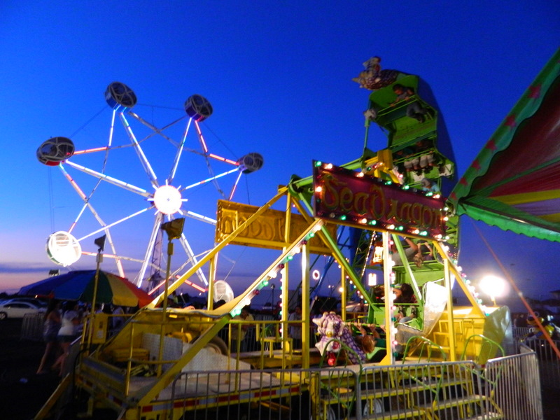 Carnival Rides at Sand and Sage Fair