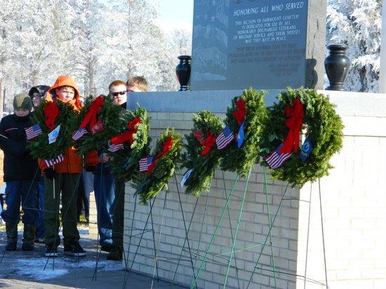 Wreath Ceremony in 2011