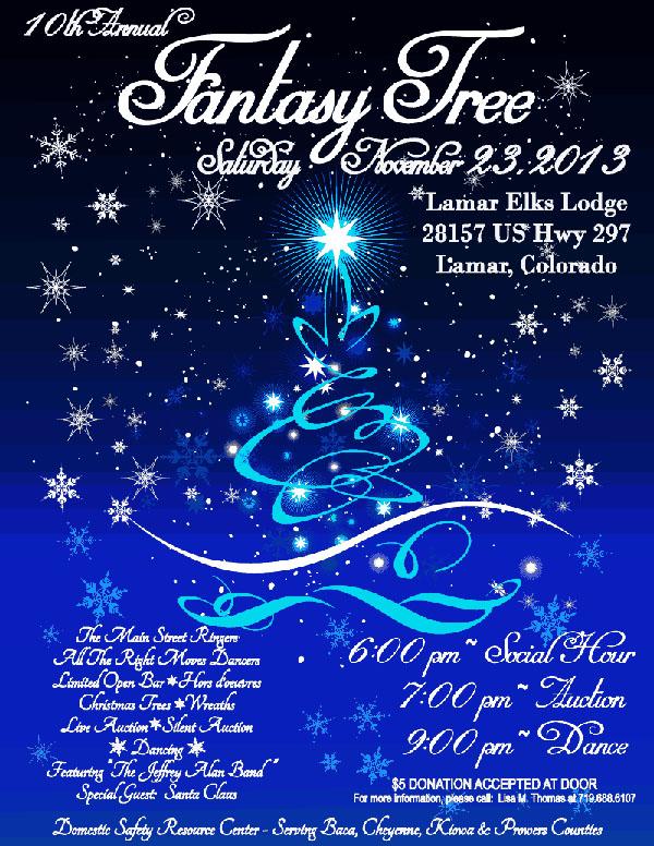 10th Annual Fantasy Tree Poster