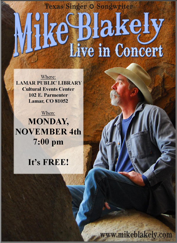 LPL Mike Blakely Concert Oct 2013