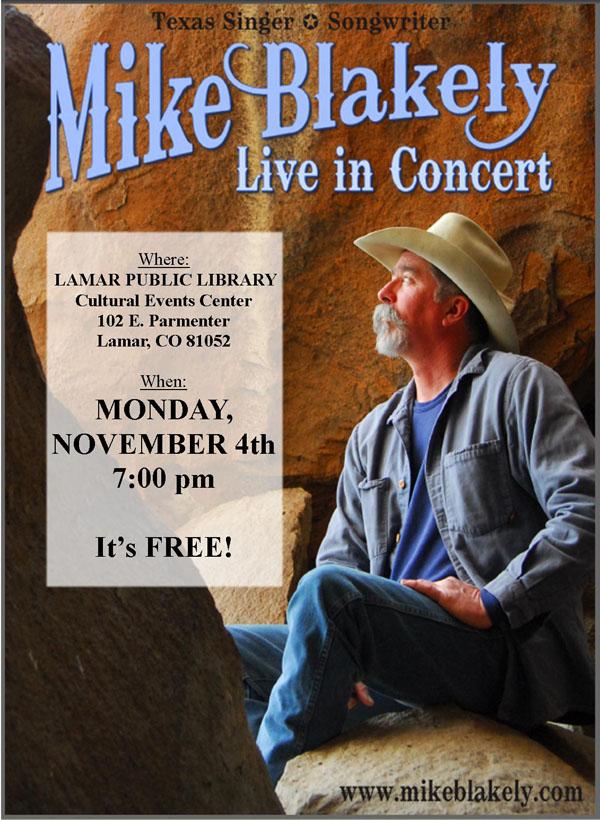 LPL Mike Blakely Concert Oct 2013