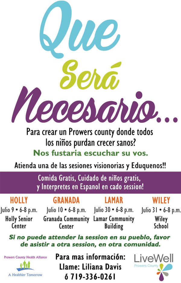 LiveWell Meeting Spanish