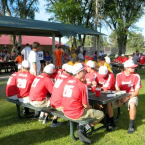 Babe Ruth Tourney Teams Served 3