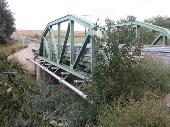 Historic Purgatoire River Bridge on U.S. 350