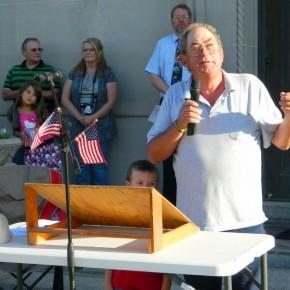 Doug Harbour at 2012, 9/11 Tribute