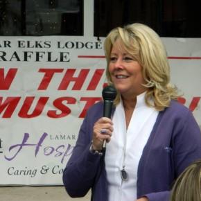 Executive Director, Deb Pelley