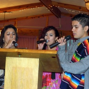 The Gutierrez Family Entertained with Traditional Songs