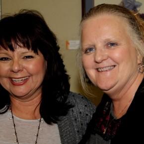 Rose Ann Yates and Bev Middleton