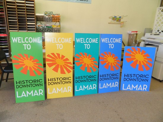 City of Lamar Banners