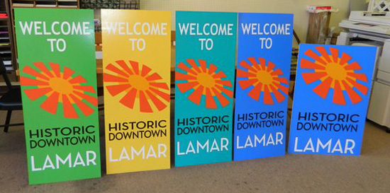 Historic Downtown Lamar Brand