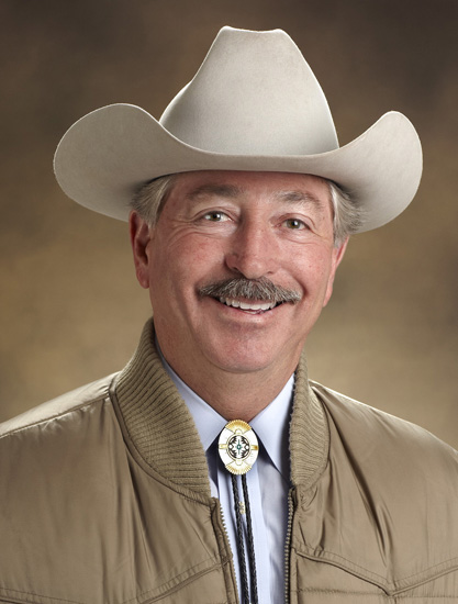 Commissioner of Agriculture, John Salazar