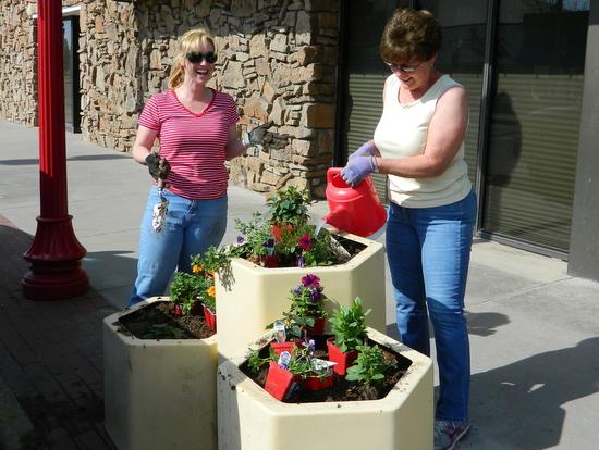 Flowers on Main Street 1