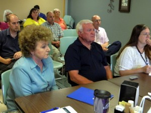 Jillane Hixson and Loren Brown at PMC Board Meeting