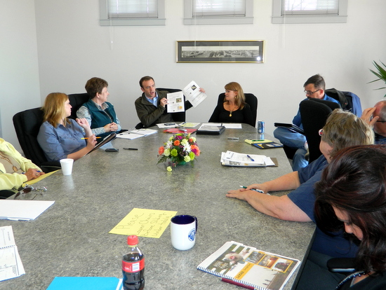 Early Plans and Need for Local Volunteers Discussed with Representatives