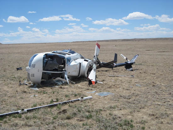 Helicopter Crash Site