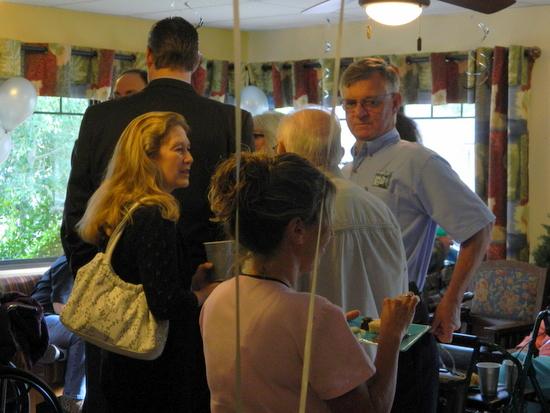 Skip Ruedeman, Lamar Mayor Pro-tem on far Right
