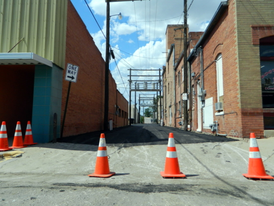 New Surface Smooths Out Rough Alley