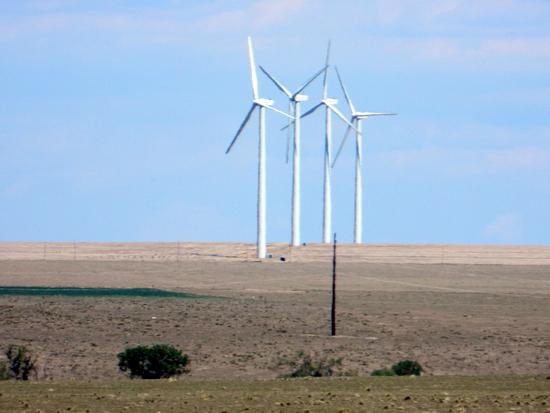 Lamar Light Plant Wind Turbines