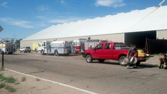 Fire Department Responds to Alarm at Dragon Enterprises
