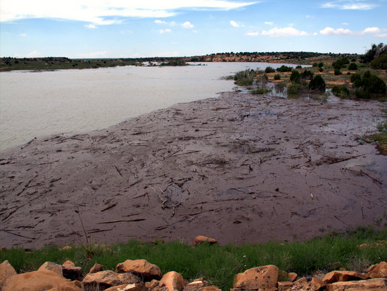Full Two Buttes Reservoir