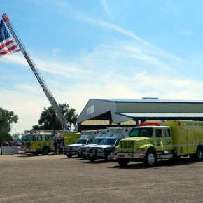 Lamar and Prowers County Responders on Display at Fairgrounds