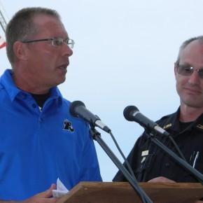 Scott Crampton Announces Wade Parker Memorial Scholarship at LCC