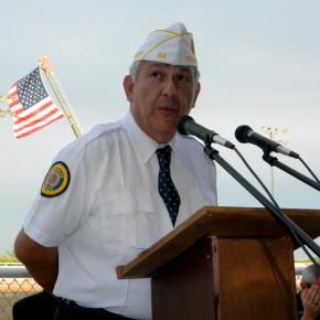 American Legion Commander, Tom Flores