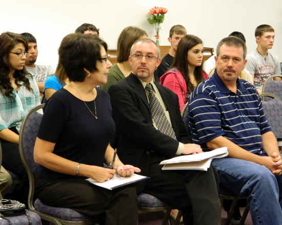 Holly Administrator Willhite, Lance Benninghoff-PCDI Executive Director, Holly Mayor-Brad Simon