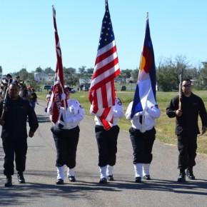 Hasty Color Guard, 2013 Parade