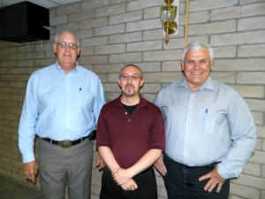 Lenninghoff with PCDI Directors Brase and Robbins