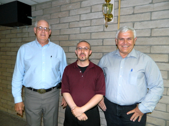 Benninghoff with PCDI Directors Brase and Robbins