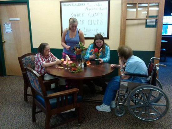 Girl Scouts at Juniper 2