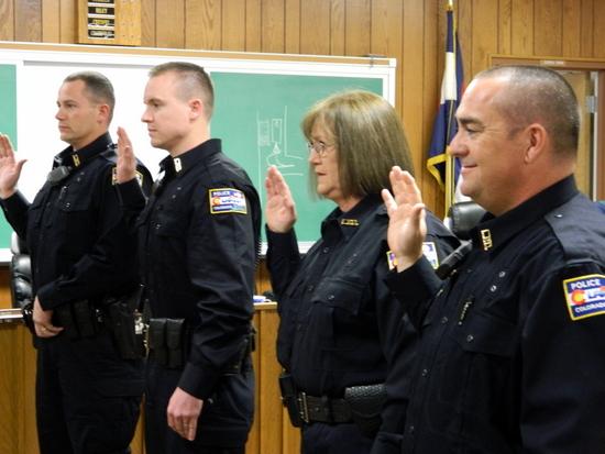 Swear In Officers