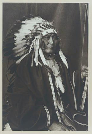 Brave Bear, Cheyenne Indian. Died near Thomas, Oklahoma in 1932. Photo courtesy of the Denver Public Library, Western History and Genealogy Collection. Call Number Z-3155.