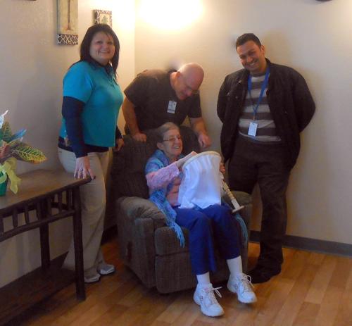 rehab and nursing rm 111