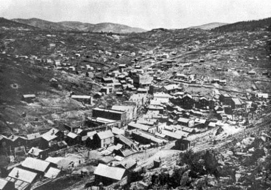 Central City, circa early 1860s - March 2014