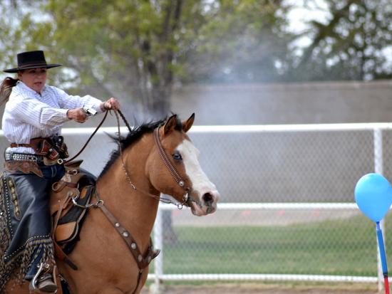 Mounted Thunder Rider