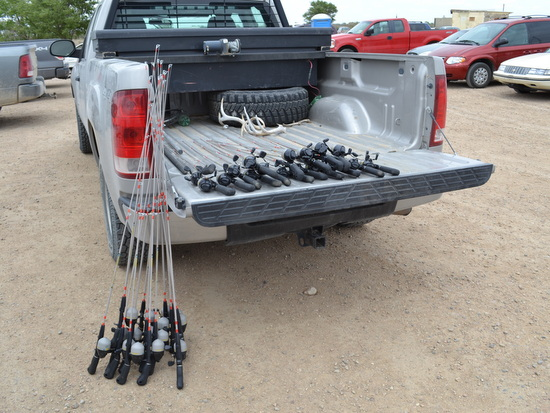 CP&W Gave Away Rods & Reels