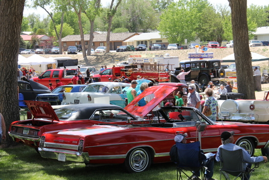 The Car Show Packed them in for Another Year