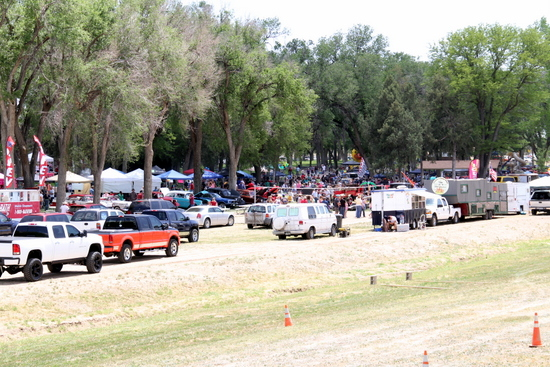Lamar Days Scene from Levee at Park