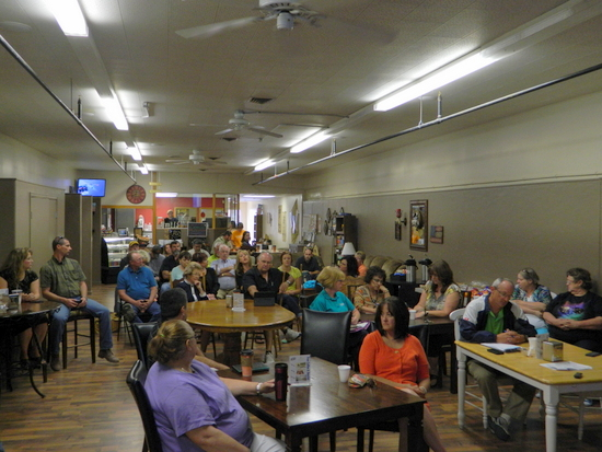 CDOT Meeting at Brew Unto Others in Lamar