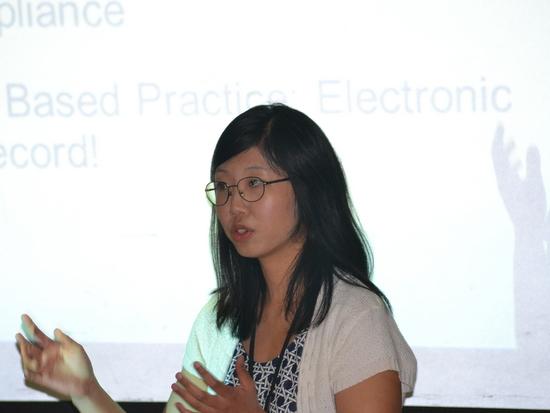 Student Chanmi Lee