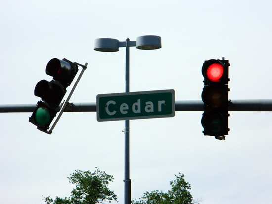 At Cedar and Main in Lamar