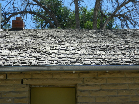 Shake Shingles on WPA Roof