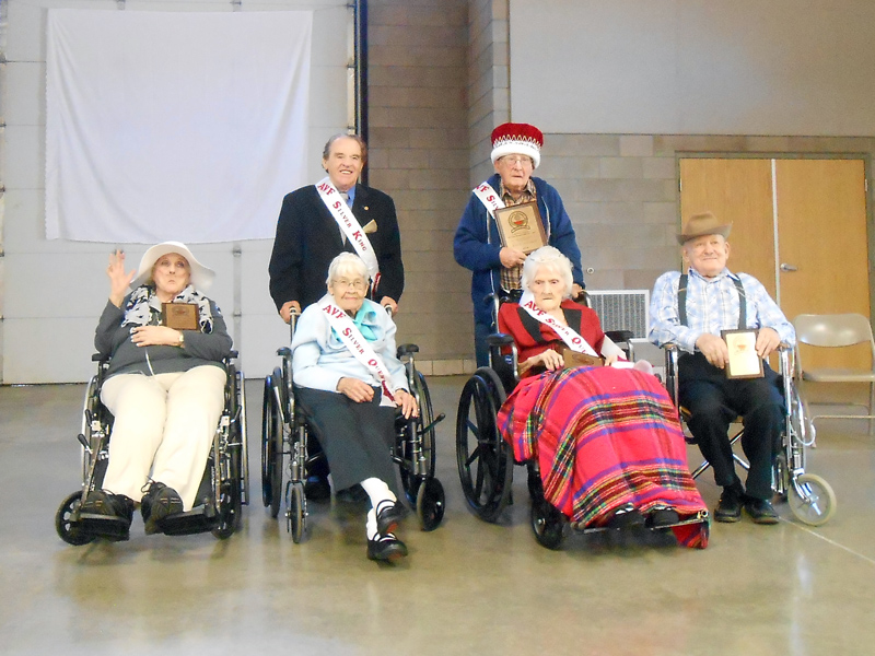 Ark Valley Fair Silver King and Queen Court 2014
