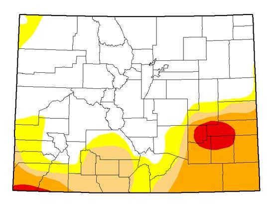 Drought Map, September 2014